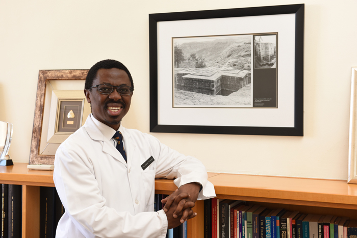 Professor Bongani Mayosi, the new dean of the Faculty of Health Sciences at UCT.