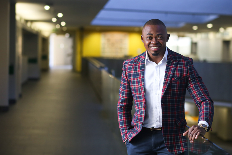 Dr Malibongwe Manono, who will graduate on Friday, completed his PhD in rapid time – while juggling his role as a lecturer.