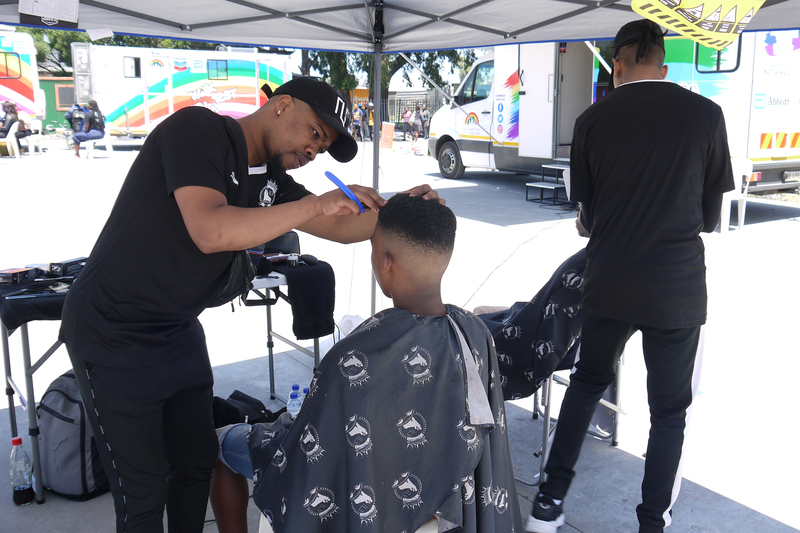 Legends barbers doing their part to encourage HIV testing among young men in Phillipi.