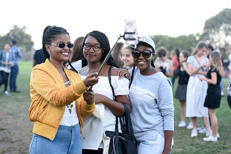 The annual Freshers' Braai gave first-years the opportunity to get to know each other and make new friends.