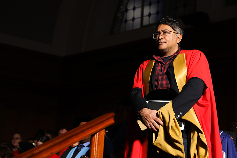 Social justice activist Zackie Achmat was awarded an LLD (honoris causa) during the July graduation ceremony, his second honorary degree from UCT.