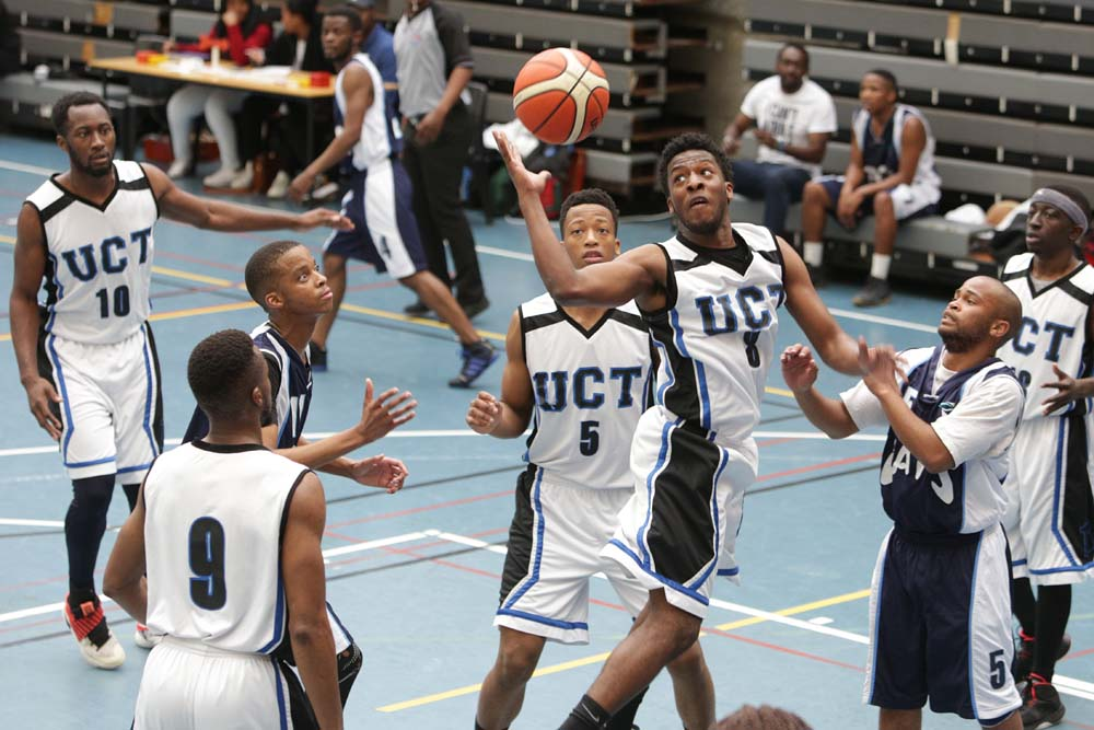UCT's winning basketball stars show the opposition how it's done.