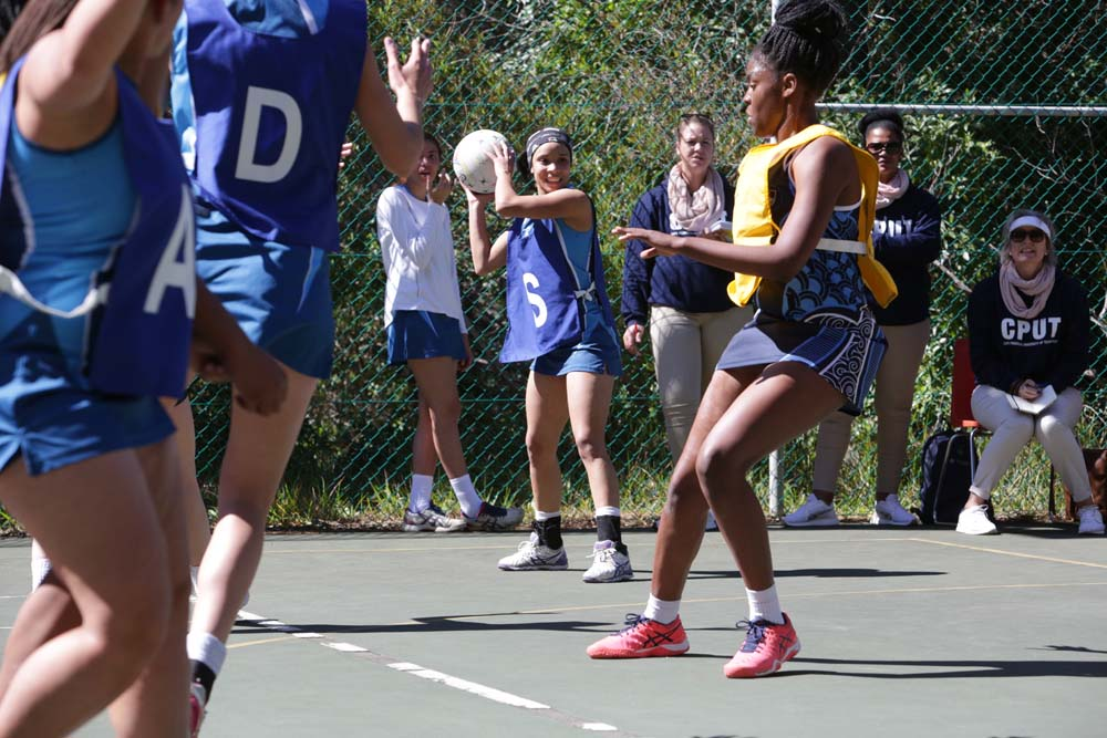 Skill and precision rule on the netball court during Inter-Varsity 2018.