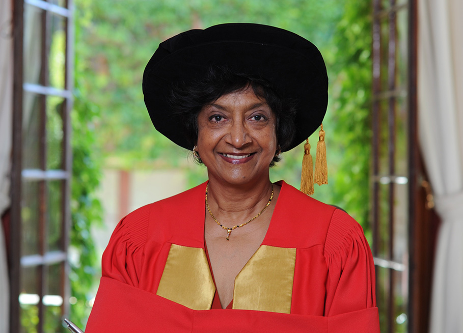 Navi Pillay (2010), Doctor of Laws