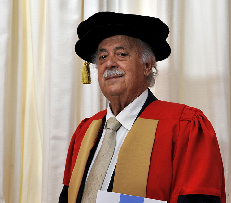 George Bizos (2008), Doctor of Laws