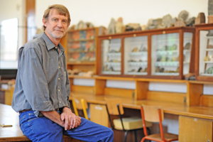 UCT's new Dean of Science, geologist Prof Anton le Roex.