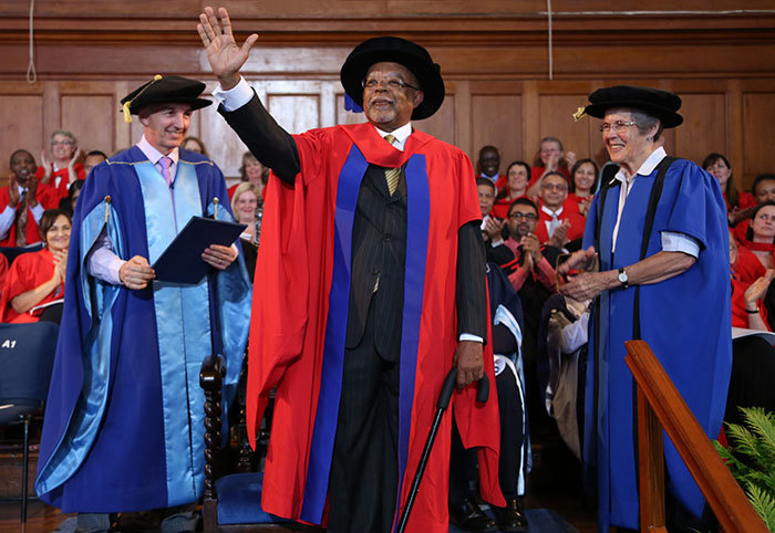 Blessed with ideas: Honorary graduate Prof Henry Louis Gates Jr, renowned literary critic, educator, scholar, documentary maker, writer and editor.