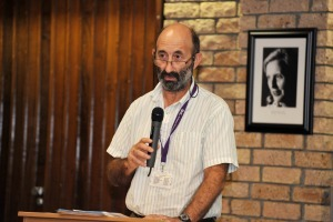 Guided by conscience: Professor Leslie London speaks at a Human Rights Day commemorative seminar on the ethical implications for the medical fraternity of the HPCSA's judgement on Wouter Basson's action during the apartheid era.