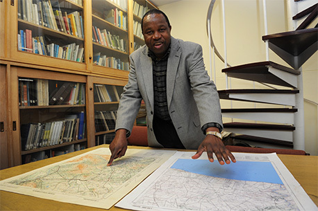 Maano Ramutsindela, Associate Professor in UCT's Department of Environmental and Geographical Science.