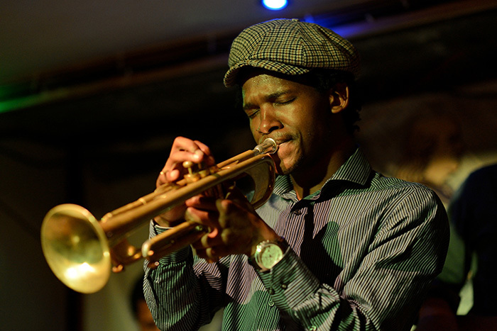 Mandla Mlangeni, a UCT music composition graduate, will be one of six composers presenting new works during the Cape Town Goema Orchestra's sixth season. (Image supplied.)