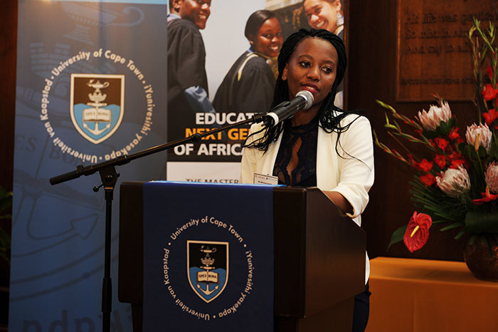 Miranda Nyathi, a Mastercard Foundation Scholar, disagrees with the opinion that Africa needs entrepreneurs more than researchers: it's her belief that, through research, the conditions are created in which entrepreneurs can flourish.