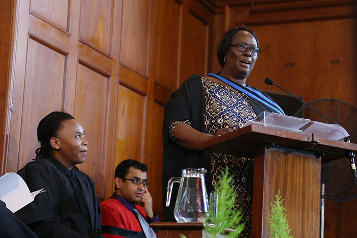 Mary-Jane Morifi implored UCT's final group of commerce graduands to act in the service of the common good.