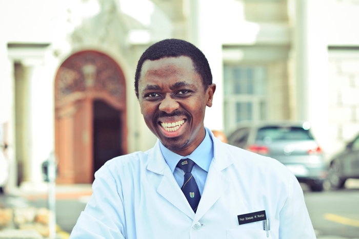 Professor Bongani Mayosi, the dean designate of the Faculty of Health Sciences at UCT.