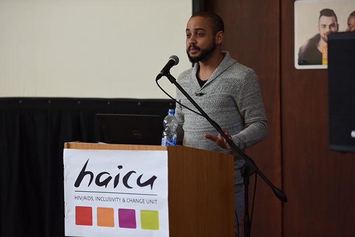 "Keenan Hendrickse, speaker for the UCT student parliament, suggesting at the day-long HAICU seminar that any policy on sexuality should be guided by a commitment to be human-centred rather than technocratic, and any response should adhere to the principle of ""nothing about us, without us"" in order to ensure adequate student participation."