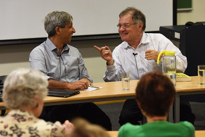 Professor Adam Habib, vice-chancellor of Wits University, and Professor Dennis Davis of UCT's Faculty of Law discuss issues of democracy, economy and higher education in South Africa, as part of UCT's 2015 Summer School programme.