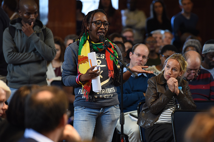 "Pam Dhlamini, a former chair of Rainbow UCT, said that queer students needed better support from the university, because ""we've had none"", especially in light of the recent furore around comments made by SRC member Zizipho Pae."