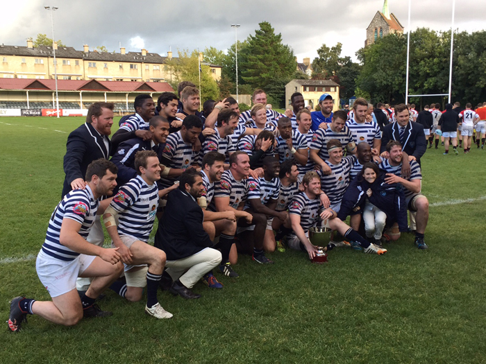 The Ikey Tigers won the first World University Rugby Cup when they beat Trinity College Dublin 17‑0 on 21 September.
