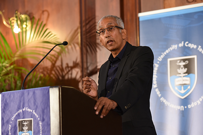 Kenan Malik spoke of the importance of free speech in diverse societies at the annual TB Davie Memorial Lecture on academic freedom.