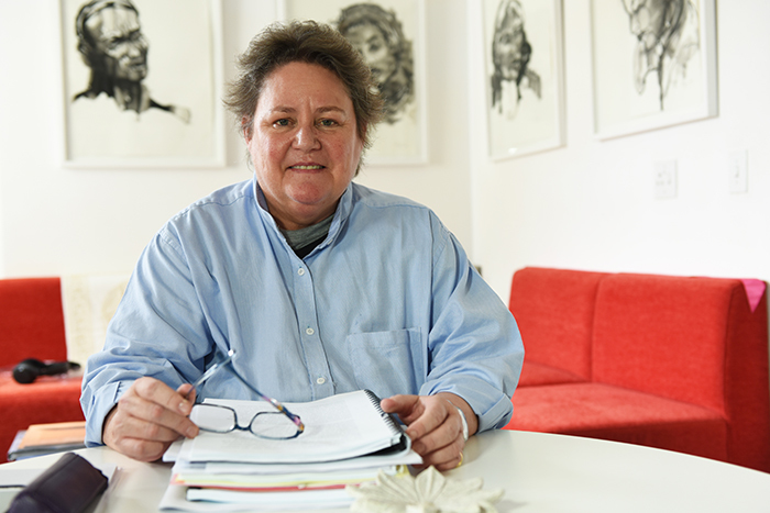 Prof Lynette Denny, head of the new South African Medical Research Council's Gynaecological Cancer Research Centre.