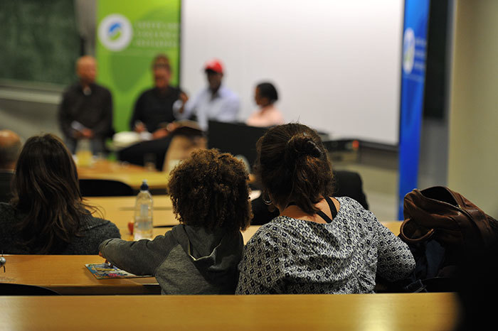Generations of people came to take part in SaVI's seminar about the nature of transformation debates at UCT and in South Africa.