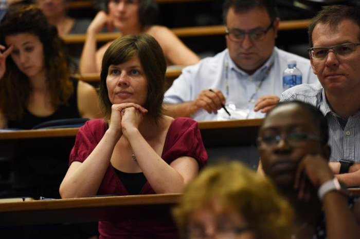 UCT lecturer Ines Meyer was one of the delegates at the opening plenary of the ABC conference.