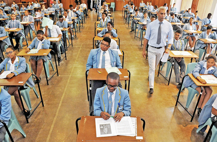 These matriculants together with many others across the country found out whether their hard work paid off with the release of their final exam results. Photo by Tracey Adams/Cape Argus.