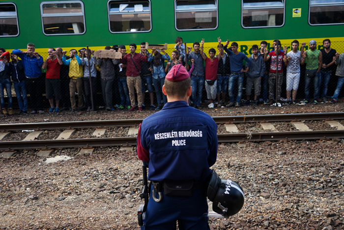 Humanitarian crisis: The influx of thousands of refugees into Europe has highlighted the complexities of international laws and EU Schengen rules governing asylum seekers.