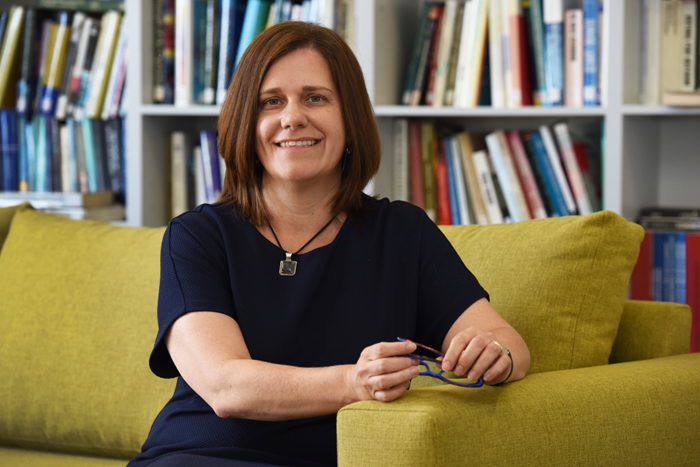 Society at heart: Prof Ingrid Woolard, new dean of commerce and the 2015 winner of the Alan Pifer Award, which will be presented on 23 March.