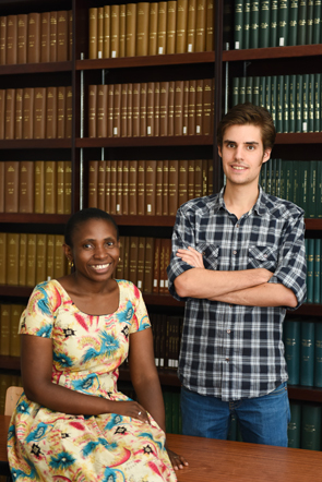 Agnes Mbonyiryivuze and Greg Jackson look forward to rubbing shoulders with scientific achievers at this year's Nobel Laureate Meeting in Lindau, Germany.
