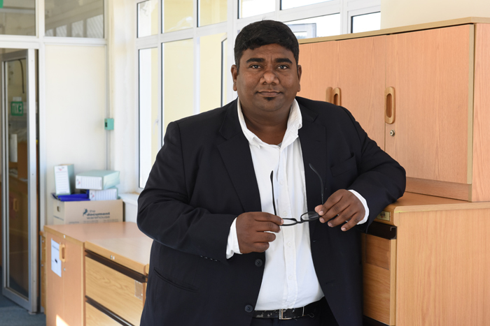 New territory: Recipient of a Claude Leon Merit Award biomedical engineer Dr Sudesh Sivarasu (human biology) develops novel medical devices using nature as a guide.