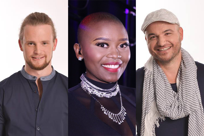 UCT student, Richard Stirton, and alumni Zoe Modiga and Jeremy Olivier, have made it through to The Voice SA finals.