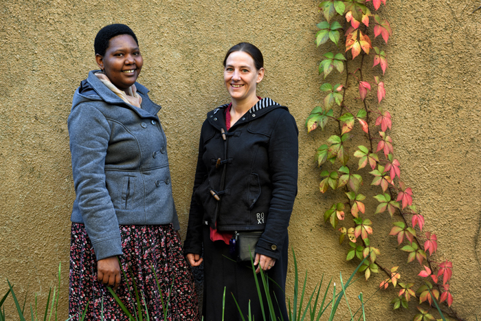 tudent development officers and clinical psychologists from the Faculty of Commerce – Bonani Dube and Jean Luyt.
