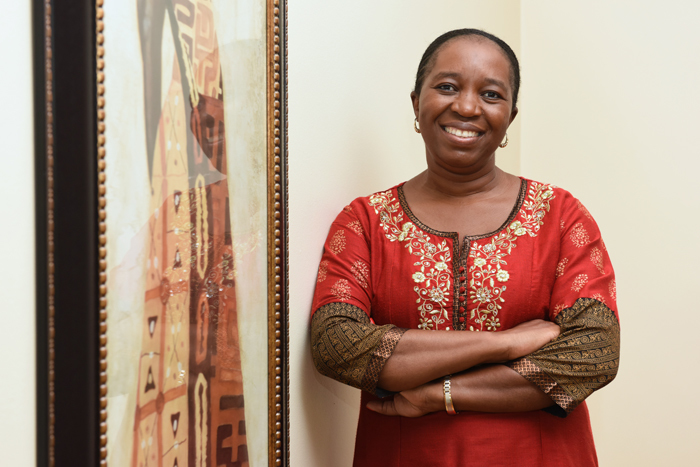 Assoc Prof Sinegugu Duma chairs UCT's newly established Sexual Assault Response Team.
