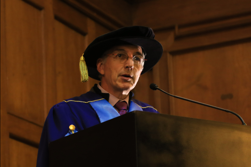 Vice-Chancellor Dr Max Price was the final speaker at the last of the 13 graduation ceremonies to take place in June.