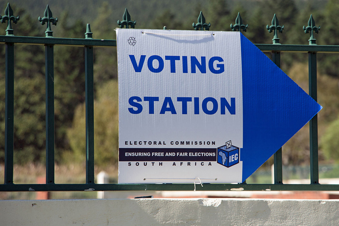 Voting day in South Africa. Photo HelenOnline via Wikimedia Commons.