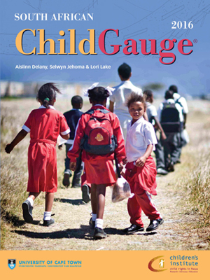 The </em>South African Child Gauge 2016<em>: focused on how the Child Support Grant is benefiting South African Children.