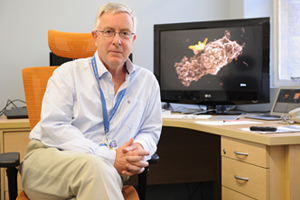 <b>Frontline researcher:</b> Emer Prof Robin Wood (Department of Medicine) has been awarded an A-2 rating by the National Research Foundation, pegging him as a world leader in his field: HIV/AIDS and tuberculosis.