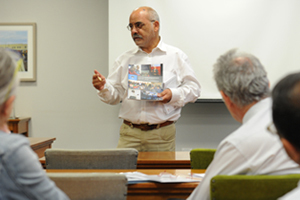 <b>Equal partners:</b> Launching the 2013 Social Responsiveness Report, Deputy Vice-Chancellor Prof Crain Soudien said the report illustrated the extent to which teaching at UCT is informed by engaged scholarship.