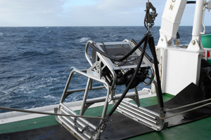 SAEON's submersible video camera is deployed to document what lives on the seabed of trawl lanes along the West Coast – and how long it takes marine life to recover after trawl fishing.