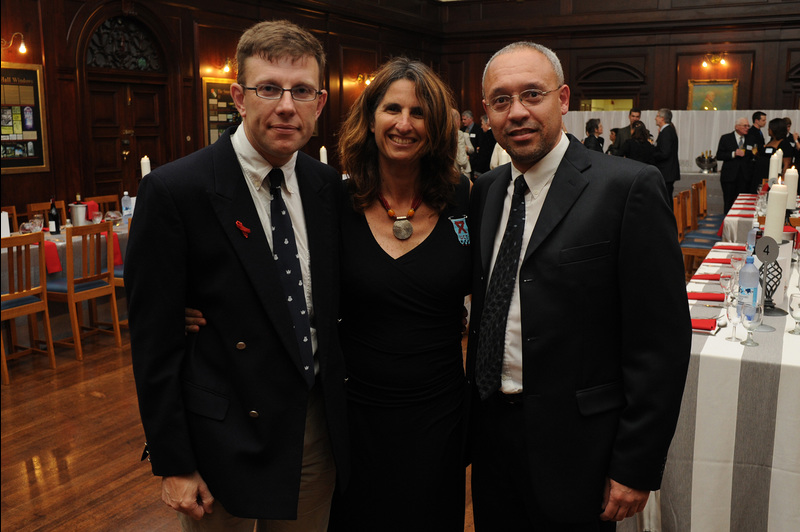 Bumper crop: (From left) Tim Low, Dr Susan Levine and Dr Gregory Smith along with Assoc Prof Michael Campbell (photo below), are the recipients of the 2011 Distinguished Teacher Awards.