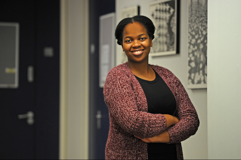 Teacher's assistant Lavhelesani Netshilindi is keeping her options open. Currently in the first year of her academic articles in accounting, Netshilindi can see herself in both the academic and corporate worlds.