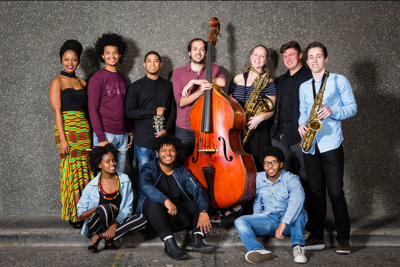 Eleven students from the South African College of Music will be performing at the 2017 Artscape Youth Jazz Festival.   <br/>(Top, from left): Naledi Masilo (vocals), Damian Kamineth (drums), Bradley Prince (guitar), Stephen de Souza (bass and double bass), Daniel van der Walt (vocals and trumpet), Georgia Jones (baritone saxophone) and Evan Froud (alto sax).  <br/>(Bottom, from left): Thandeka Dladla (vocals), Jesse Julies (vocals), Brathew van Schalkwyk (piano). Keagan Steenkamp (not pictured) will be performing on the trumpet.