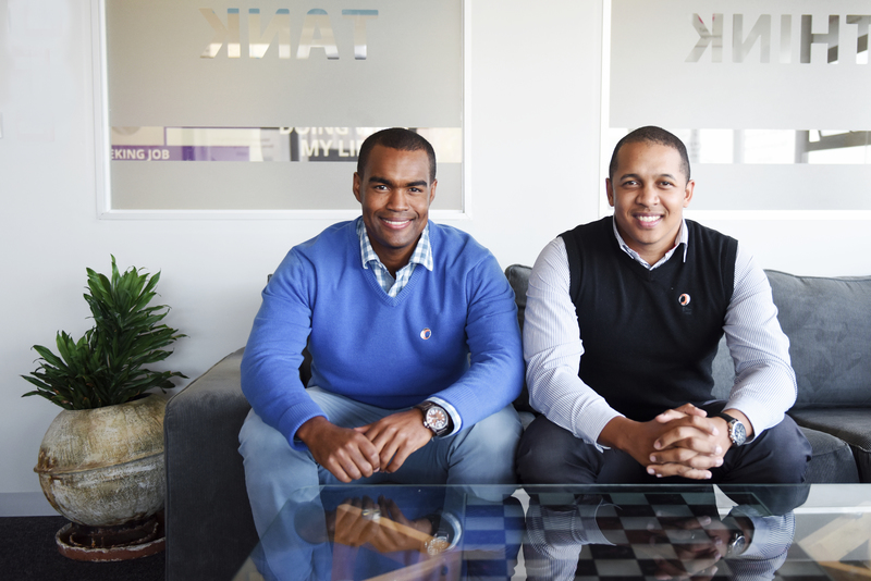 Cape Flats duo Brandon Como (left) and Grant Oosterwyk of Atnetplanet have used education as a tool and are building their business through community.