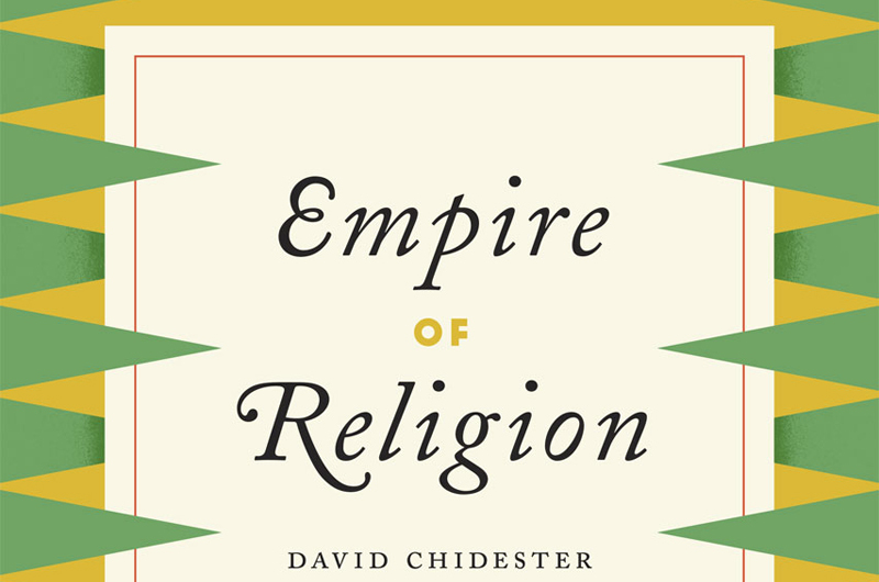 Prof David Chidester of the Department of Religious Studies is the winner of this year's UCT Book Award for Empire of Religion: Imperialism and Comparative Religion.