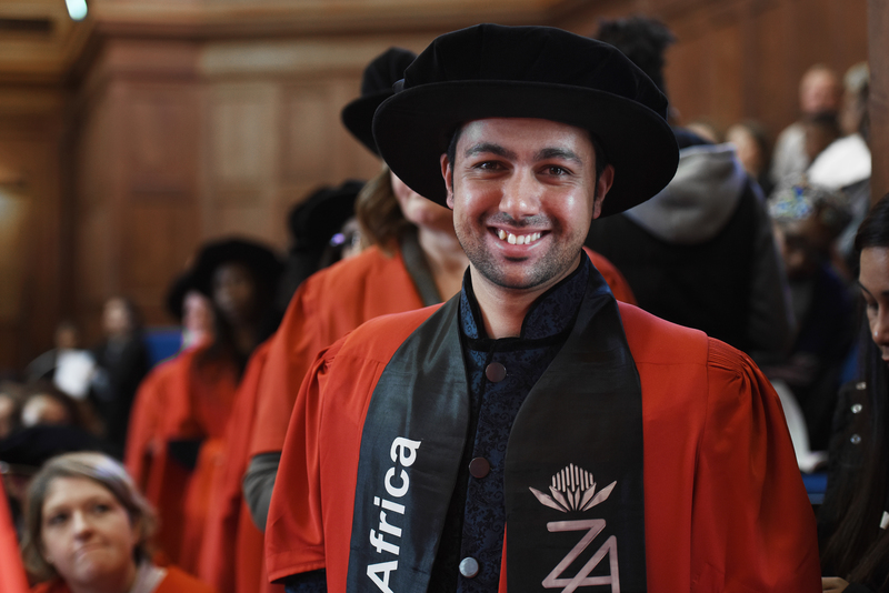 Mr South Africa, Habib Noorbhai, has received his PhD.