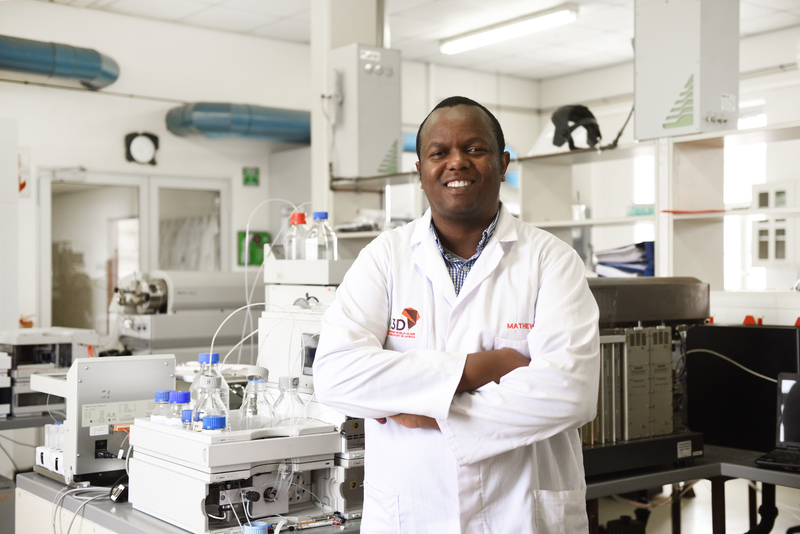 Dr Mathew Njoroge (H3D), recently returned from the 67th Lindau Nobel Laureate Meeting, Germany.