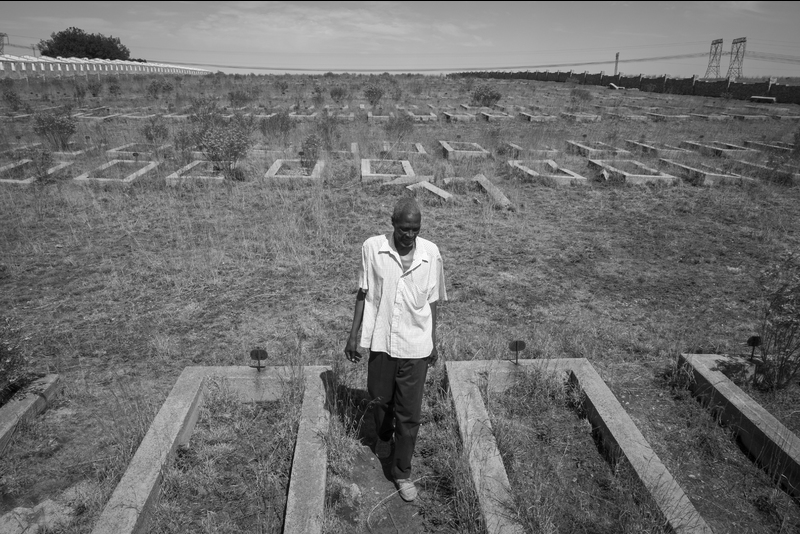 Ernest Cole Award winner for 2017 Daylin Paul catalogues the impact of power production on local communities in his project Broken Land.