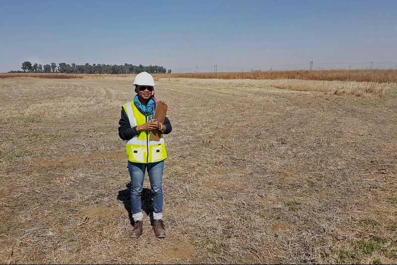 Nontobeko Gule, who is working towards her MPhil in sustainable resource development, is investigating the uses that poorly rehabilitated opencast mining sites can be put to. Gule hopes research of this kind will contribute to a more sustainable mining industry.