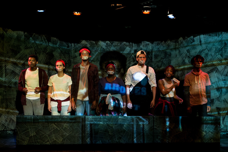 """Each individual is a frighteningly good actor … There surely cannot be a better cast at the Fringe this year,"" wrote All Edinburgh Theatre of UCT alumni Oarabile Ditsele, Ameera Conrad, Sizwesandisile Mnisi, Tankiso Mamabolo, Cleo Raatus, Thando Mangcu and Sihle Mnqwazana in their performance of The Fall."