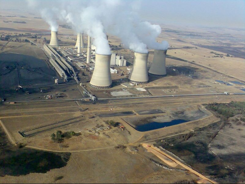 Arnot Power Station in Mpumalanga, is a coal-fired power plant operated by Eskom.